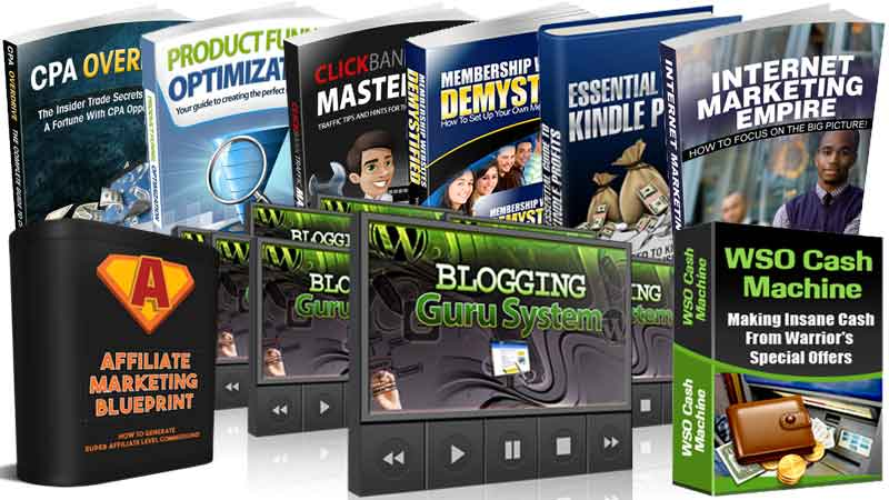 44 internet marketing products with MRR and RR